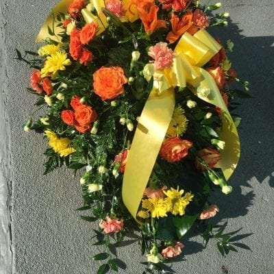 Sunset Wreath