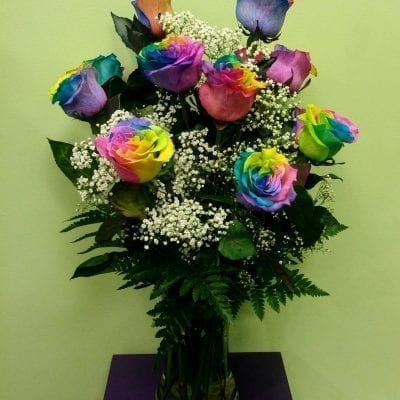 Rainbow Roses (Special Order Only)